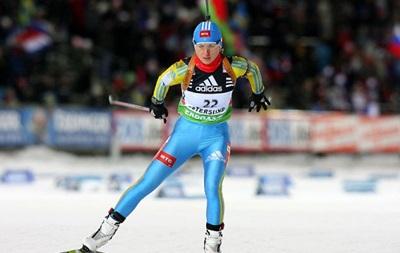 Украина завоевала бронзовую медаль на этапе Кубка мира по биатлону
