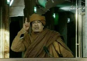 Каддафи рассказал, кто устраивает беспорядки в Ливии