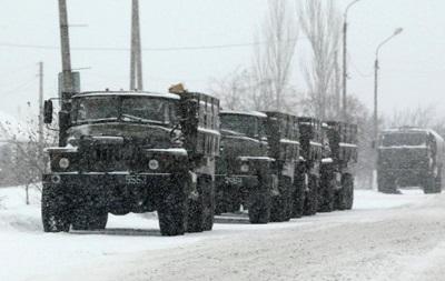 ОБСЕ зафиксировала очередной военный конвой под Донецком