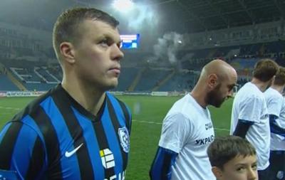 Капитан Черноморца отказался надеть футболку  Слава украинской армии