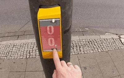 В Германии появился электронный пинг-понг на светофорах