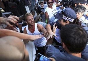 В Тель-Авиве арестованы около 40 участников акций протеста