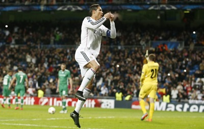 Роналду сравнялся с Месси по количеству голов в европейских турнирах