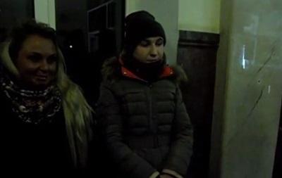 Правый сектор задержал российских журналистов в Виннице (ВИДЕО)