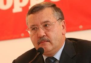 Ъ: Гриценко возглавил партию