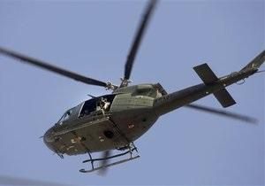 Ливийское ТВ сообщило о сбитом вертолете НАТО
