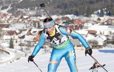 Второй успех кряду: Украинская биатлонистка выиграла медаль Кубка IBU