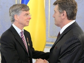 Ющенко на прощание подарил послу США орден