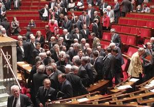 Левые партии выиграли парламентские выборы во Франции