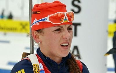 Биатлон: Украинка выиграла спринтерскую гонку Кубка IBU