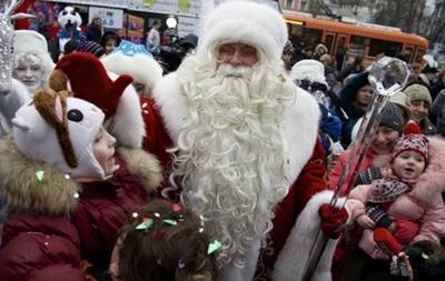 В Киеве упал спрос на услуги Деда Мороза