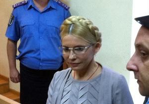 Турчинов: Тимошенко не будет связывать свое здоровье с вопросом изменения меры пресечения