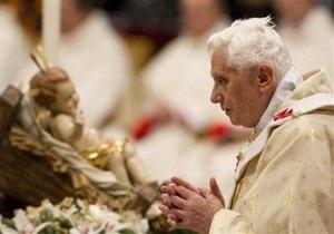Папа Римский поздравил христиан с Рождеством