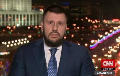 Клименко в интервью CNN:  На меня повесили ярлык принадлежности к режиму