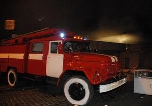 В Киеве горел автомобиль адвоката Мельниченко