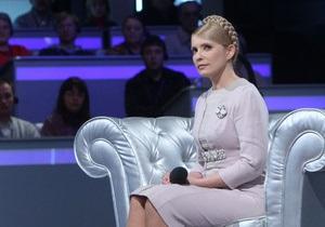 Тимошенко не приехала на программу Шустера