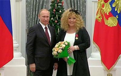 Путин наградил Аллу Пугачеву орденом