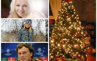 С  Оливье  и мечтами о мире: Как будут отмечать Новый год звезды украинского спорта
