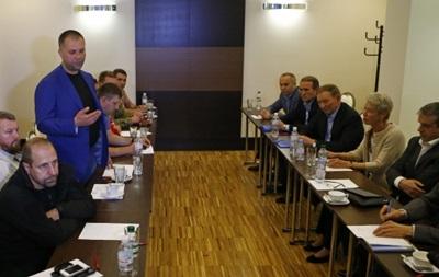 В Минске закончились переговоры по Донбассу