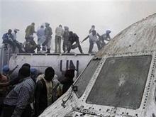 Авиакомпания: Большинство пассажиров самолета, упавшего в Конго, выжили
