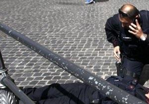 Стрельба в Риме - новости Италии- новости Рима -Ранивший двух полицейских в Риме стрелок заявил, что планировал стрелять в политиков