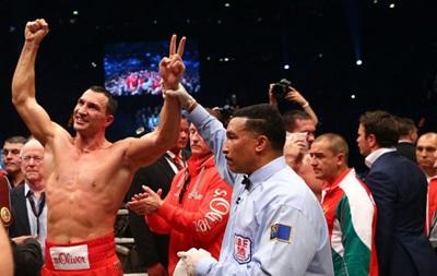 Кличко номинирован на звание лучшего боксера года