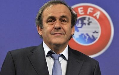 У Платини не нашлось конкурентов на пост президента UEFA