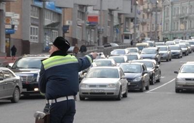 На дорогах Киева пробки достигли семи баллов