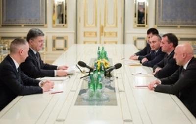 Порошенко назначил глав четырех облгосадминистраций