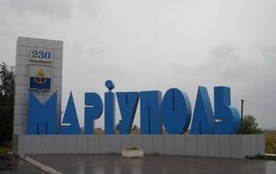 Пограничники перекрыли выезд из Мариуполя - СМИ