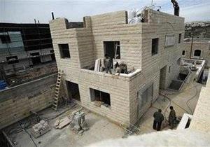Израиль отказался заморозить строительство в Иерусалиме