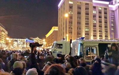 Московская полиция отчиталась об акции на Манежной площади