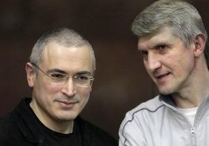 Сегодня в Европейском парламенте приступят к рассмотрению приговора Ходорковскому и Лебедеву