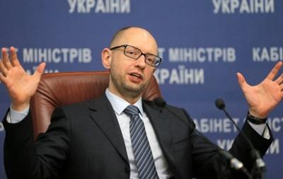 Яценюк поздравил украинцев с Новым годом и Рождеством