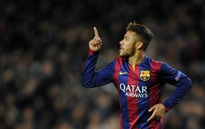 Неймар признан лучшим бразильским футболистом, играющим в Европе