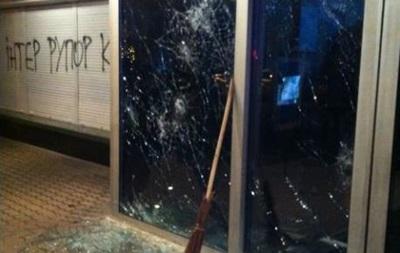 На офис канала  Интер  напали неизвестные в масках