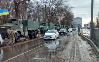 В Одессу прибыла Нацгвардия для патрулирования