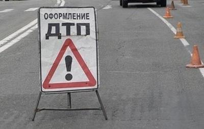 В Запорожье пьяный водитель Lexus влетел в милицейское авто