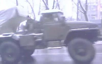 Обнародовано видео с установками  Град  в Донецке