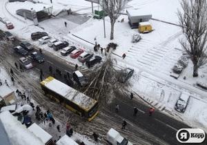 В Киеве объявлена чрезвычайная ситуация природного характера