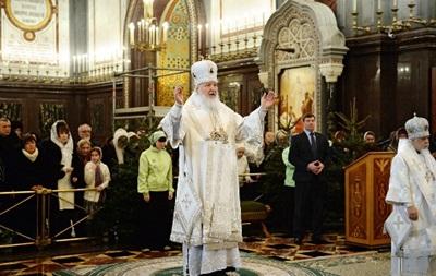 Патриарх Кирилл призвал христиан в Рождество творить добрые дела