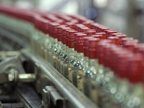 В Украине растет производство водки
