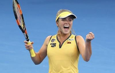Украинская теннисистка: Мечтаю о своей победе над Шараповой