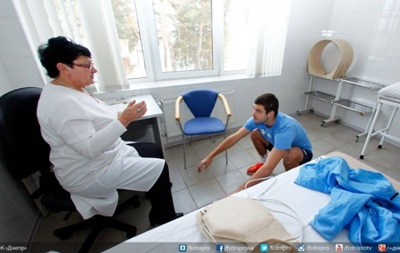 Игроки Днепра побывали на приеме у врачей