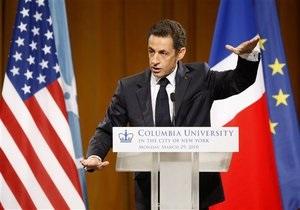 Саркози посоветовал США не навязывать свои взгляды всему миру