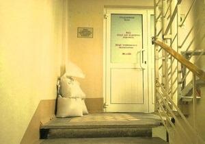 На этаже Тимошенко в больнице устанавливают ограждение