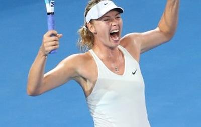 Мария Шарапова выиграла первый титул в новом году и почти $200 тысяч