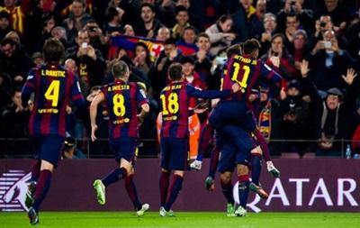 Барселона прерывает серию неудач в матчах с Атлетико