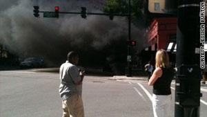 Из-за пожара в чикагском метро пострадали девятнадцать человек