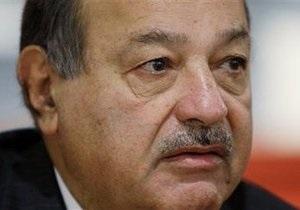 Forbes: Богатейшим человеком в мире стал мексиканец Карлос Слим